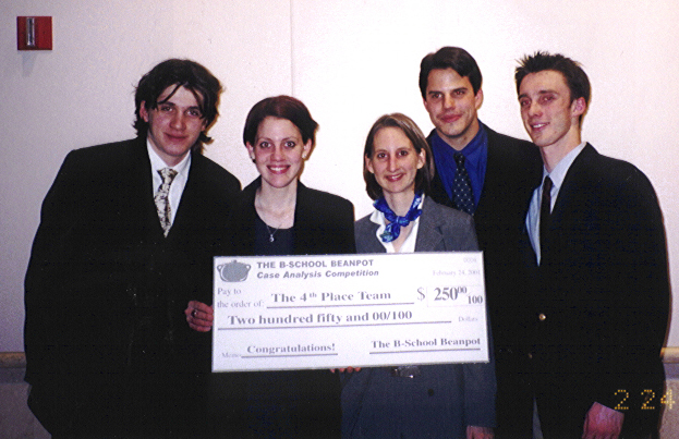 Boston-School Beanpot Case Analysis Competition Finalist - Group Photo